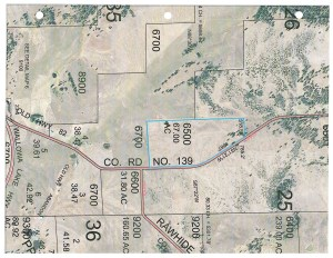 The property is one mile of the Wallowa Lake Highway on County Road 139 - a nice gravel road.