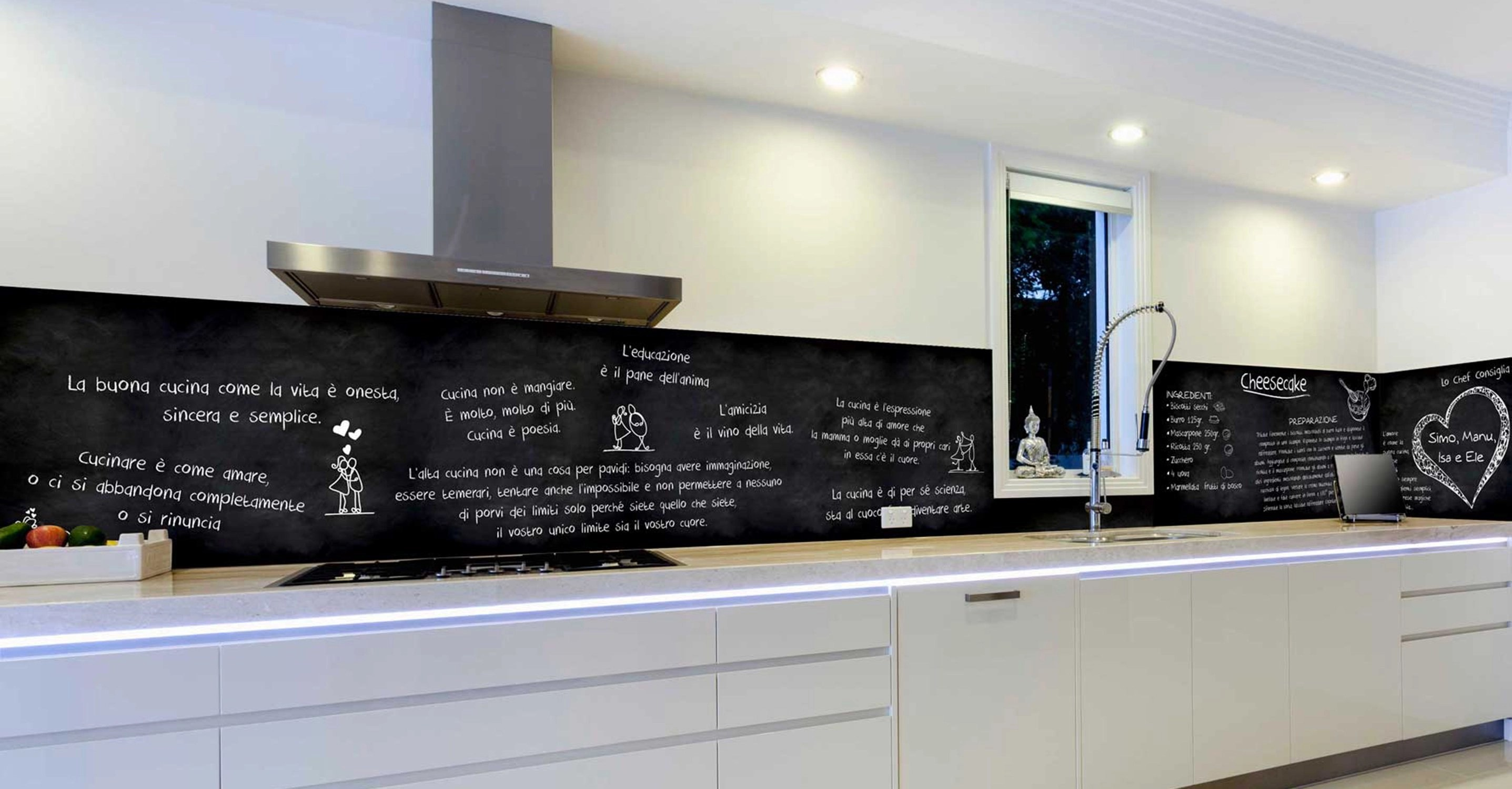 Rivestimenti parete cucina  bagno  porte  facciate esterne