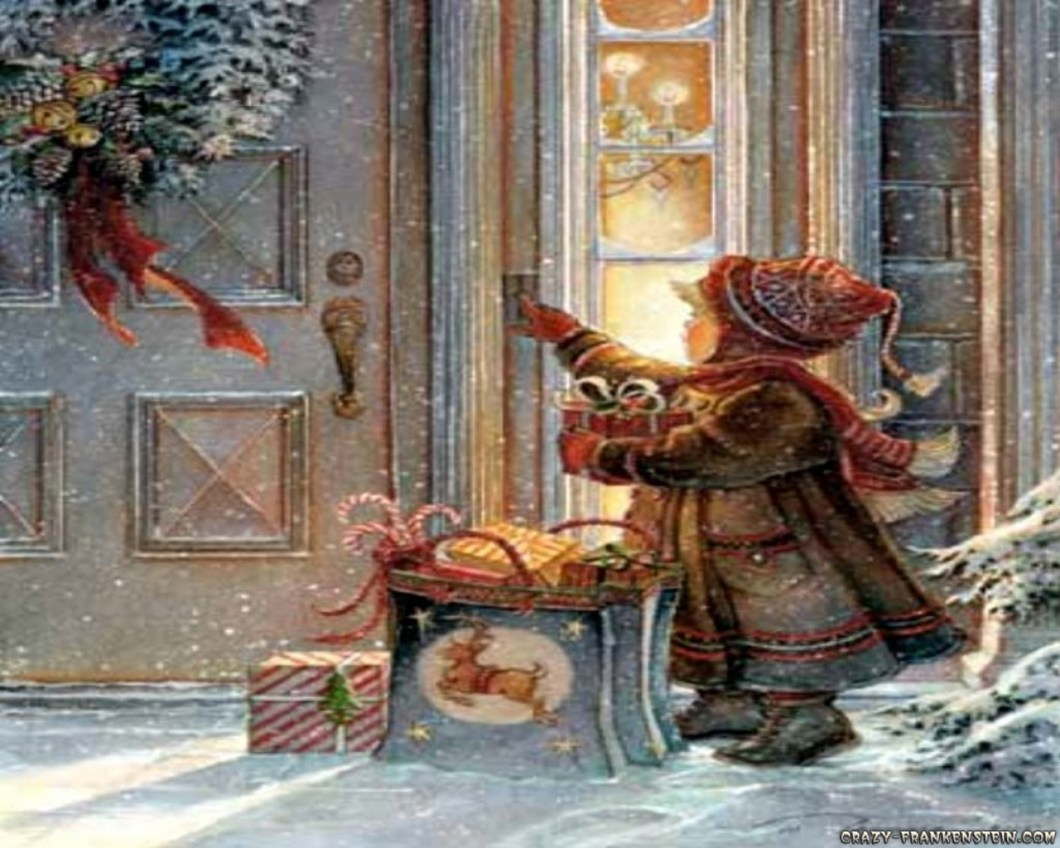 Free Old Fashion Christmas Wallpaper   Imagewallpapers.co