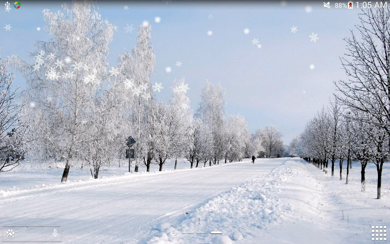 Live Snow Falling Wallpaper For Desktop Snow Scenery Wallpapers Group 82