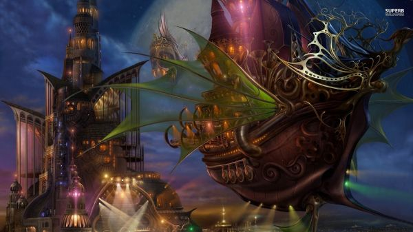 Steampunk Anime Wallpapers Group 56