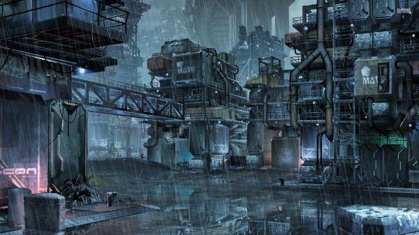 Cyberpunk Futuristic Cities