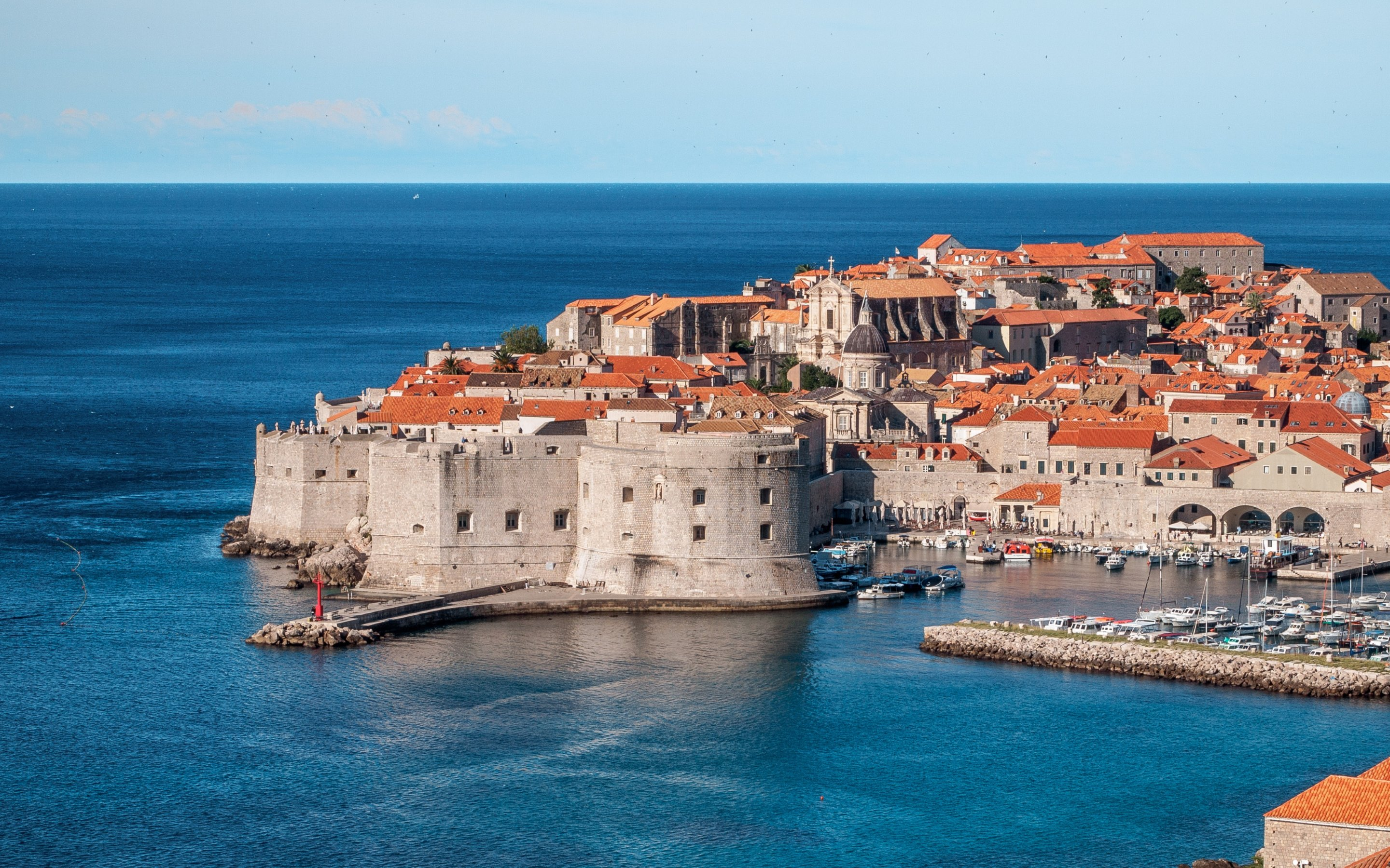 Ed Hardy Wallpaper For Iphone Europe Croatia Town Dubrovnik Hd Wallpapers 4k Backgrounds