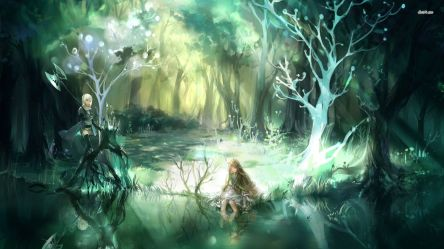 Fantasy Forest Wallpapers Group 77+
