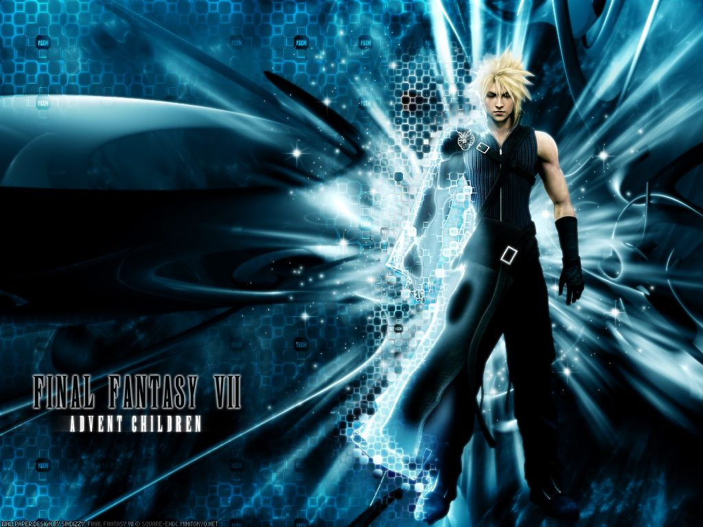 Final Fantasy Xv Wallpaper Iphone X Final Fantasy Cloud Advent Children Wallpaper