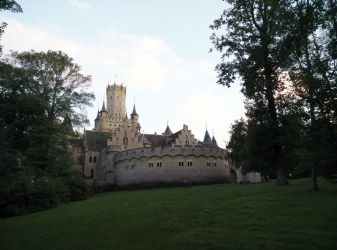 medieval castle wallpapers fortress fairy germany