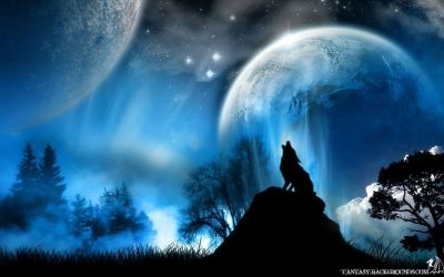 Moon Wolf Wallpapers Group 70+