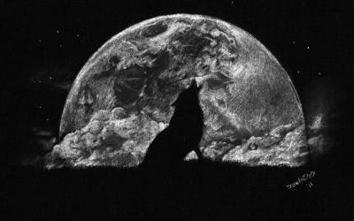 wolf moon wallpapers hd wallpapersinhq pw