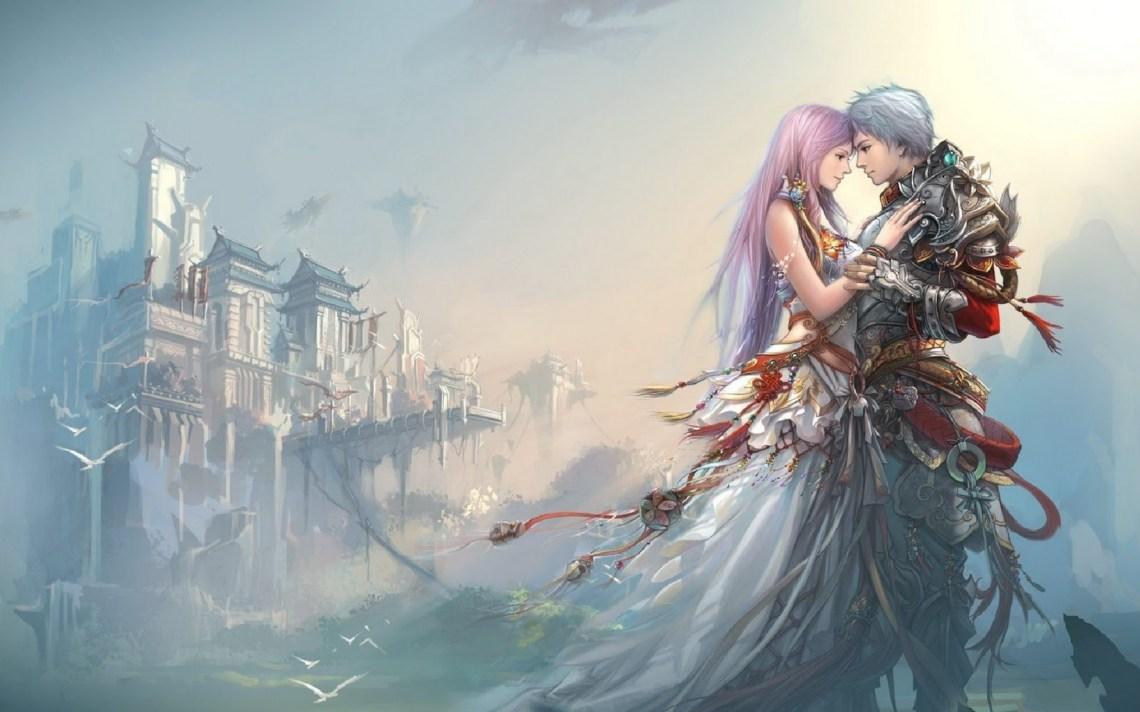 65 Cute Anime Couple