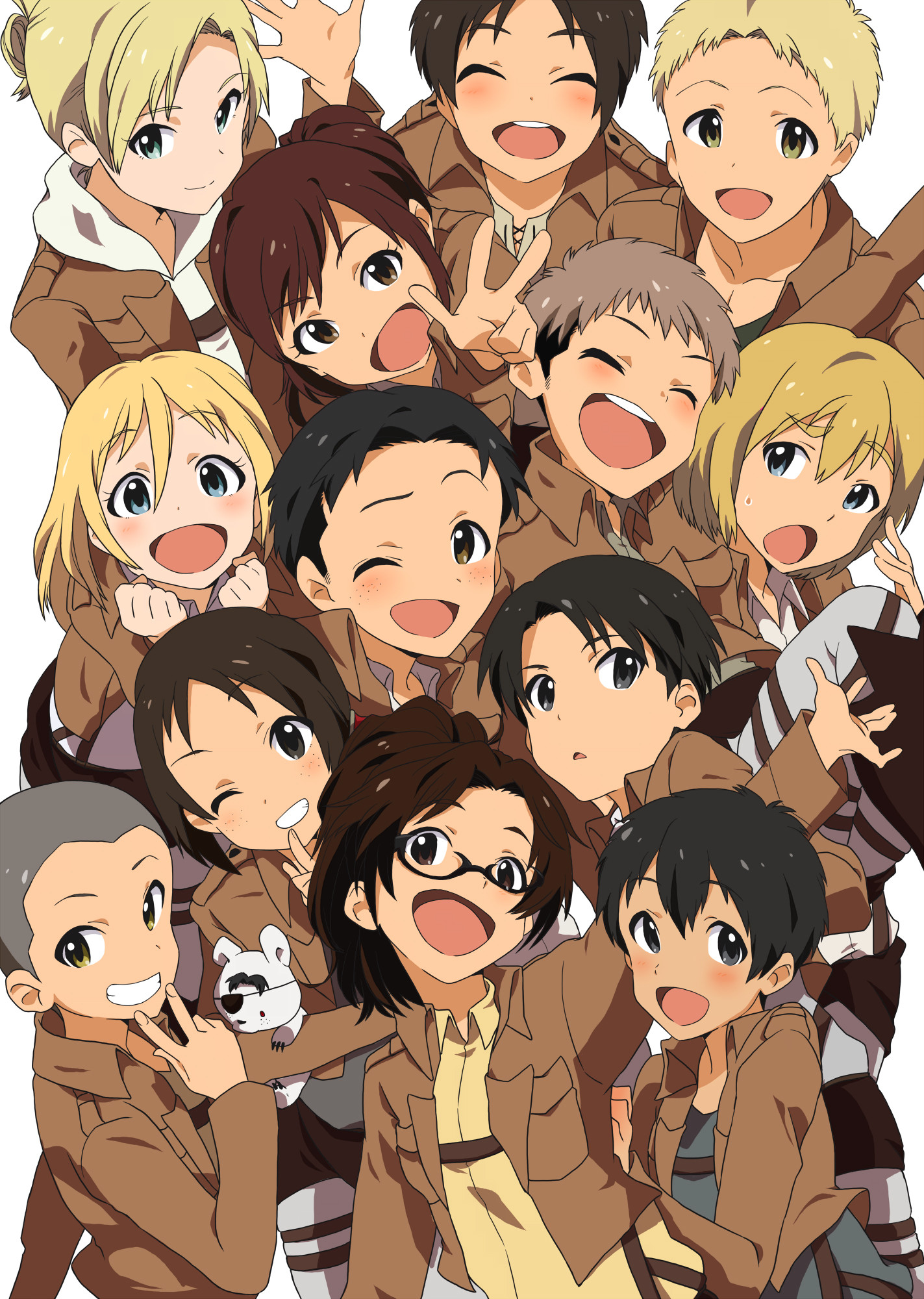 Sizing also makes later remov. Download Aot Wallpaper Chibi Pictures - getallpicture