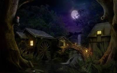 73+ Fantasy Forest Wallpaper HD