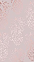 aesthetic pink phone pineapple iphone watercolor wallpapers ima flower backgrounds dope trendy mobile