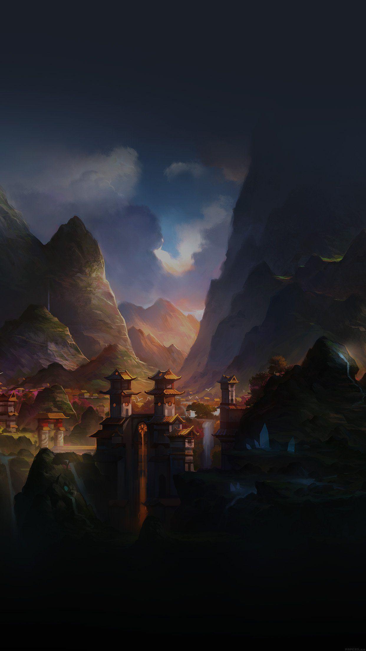 Peaceful Anime Background : peaceful, anime, background, Anime, Peaceful, Wallpapers, WallpaperDog