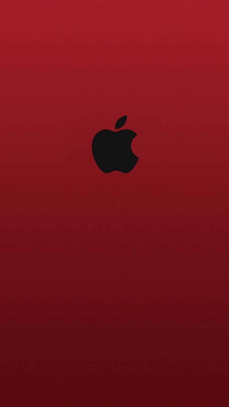 Red Apple Logo Wallpaper : apple, wallpaper, Black, Apple, Wallpapers, WallpaperDog