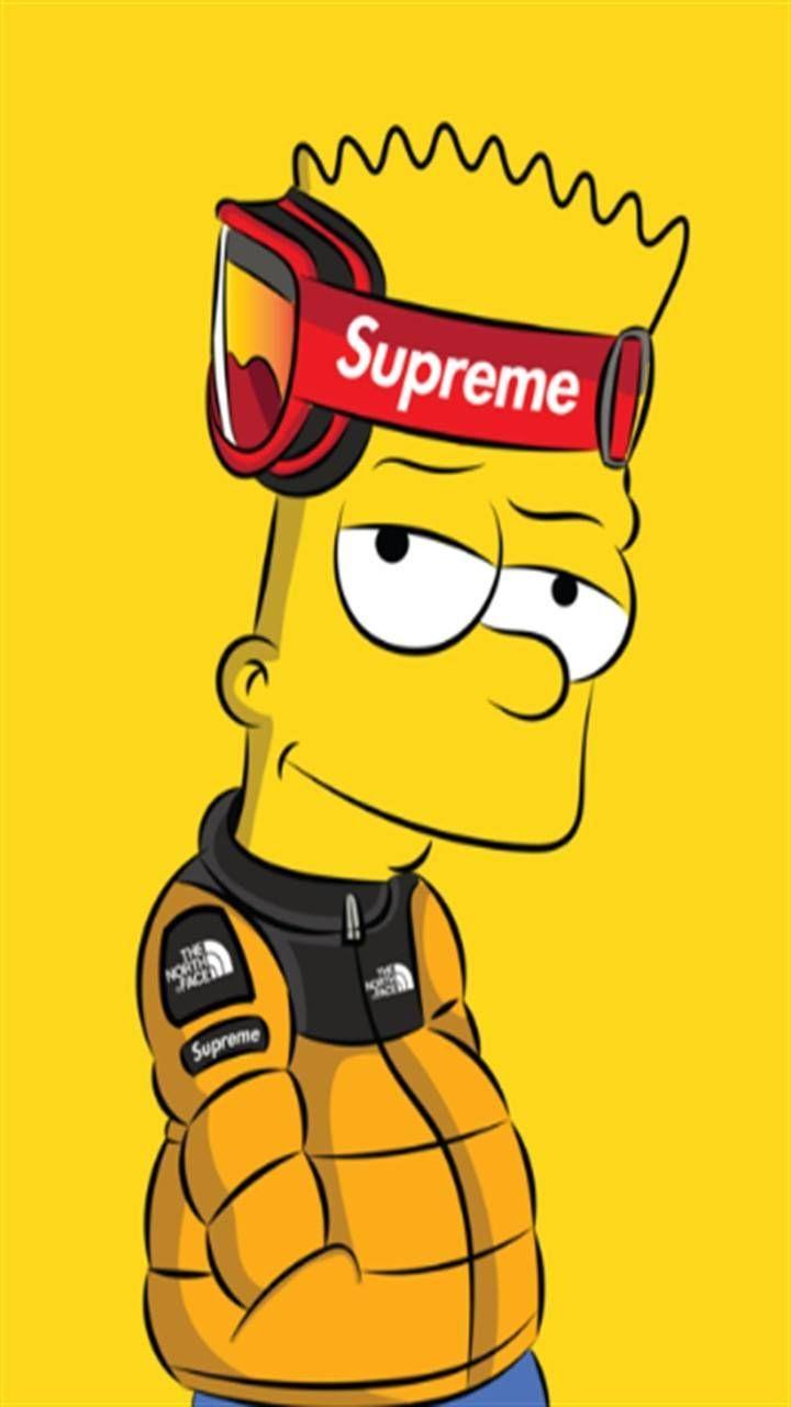Supreme 1080x1080 : supreme, 1080x1080, Supreme, Simpson, Cartoon, Wallpapers, WallpaperDog