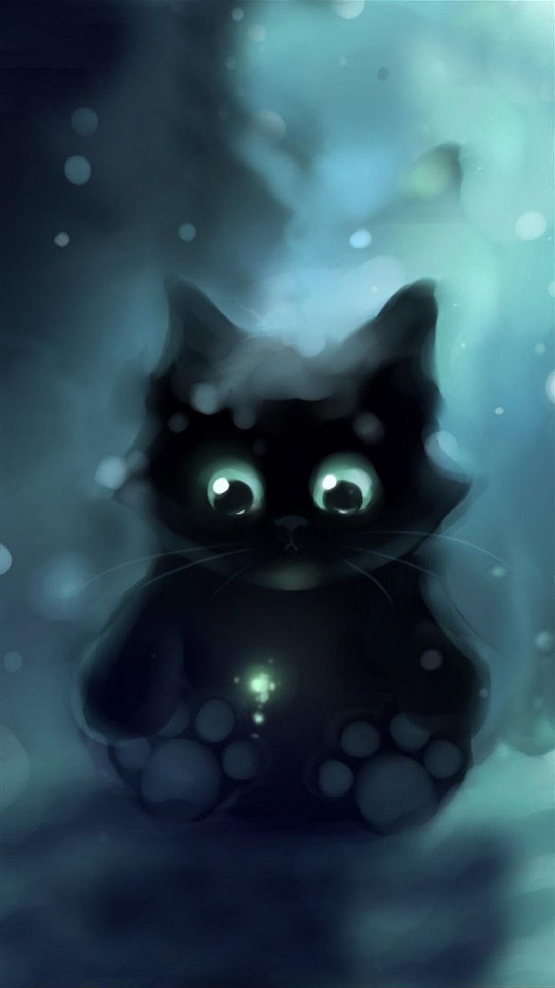 Galaxy Cat Background : galaxy, background, Black, Galaxy, Wallpapers, WallpaperDog