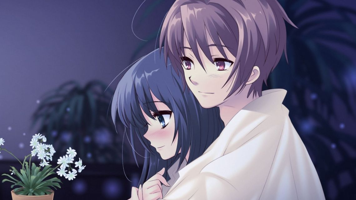 Love Couple Cute Anime Wallpapers On Wallpaperdog