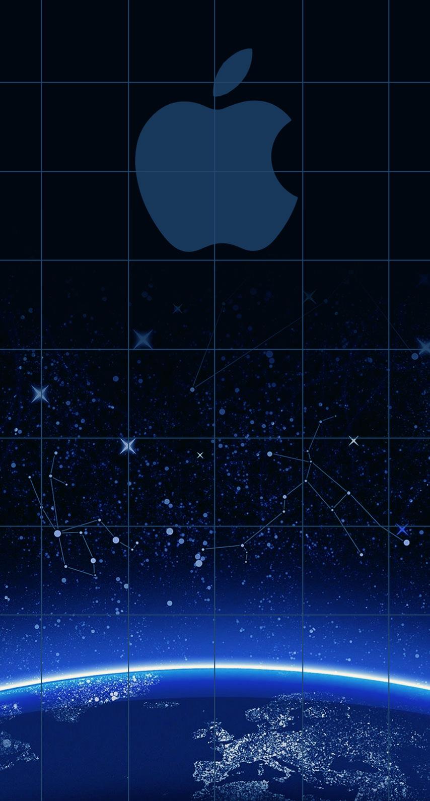 Green Wallpaper Iphone X Apple Logo Shelf Cool Blue Universe Wallpaper Sc Iphone6s