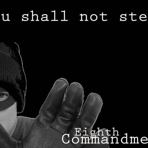 Eighth Commandment christian wallpaper free download. Use on PC, Mac, Android, iPhone or any device you like.