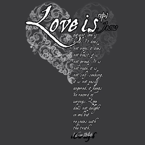 1 Corinthians 13:4-6 christian wallpaper free download. Use on PC, Mac, Android, iPhone or any device you like.