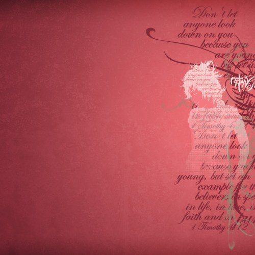 1 Timothy 4:12 christian wallpaper free download. Use on PC, Mac, Android, iPhone or any device you like.