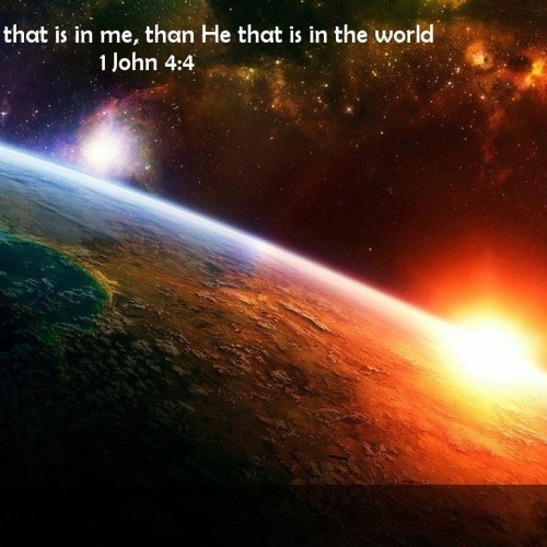 1john4:4 christian wallpaper free download. Use on PC, Mac, Android, iPhone or any device you like.