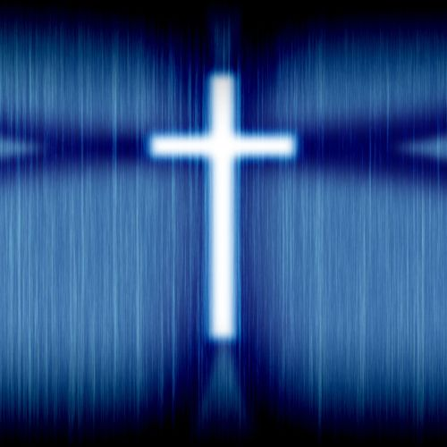 Blue Cross christian wallpaper free download. Use on PC, Mac, Android, iPhone or any device you like.