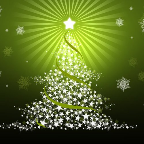 Christmas – Green Tree christian wallpaper free download. Use on PC, Mac, Android, iPhone or any device you like.