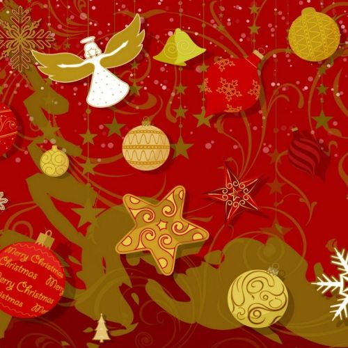 Christmas – Red Happy christian wallpaper free download. Use on PC, Mac, Android, iPhone or any device you like.