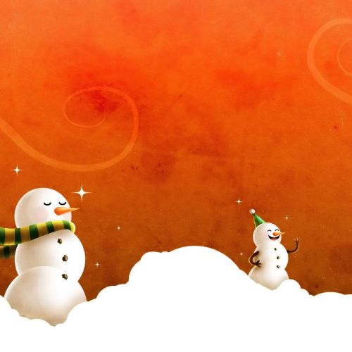 Christmas Snow Men christian wallpaper free download. Use on PC, Mac, Android, iPhone or any device you like.