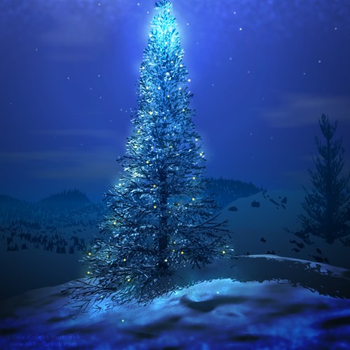 Christmas Tree – Magical christian wallpaper free download. Use on PC, Mac, Android, iPhone or any device you like.