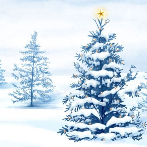 Christmas Tree – Snow christian wallpaper free download. Use on PC, Mac, Android, iPhone or any device you like.
