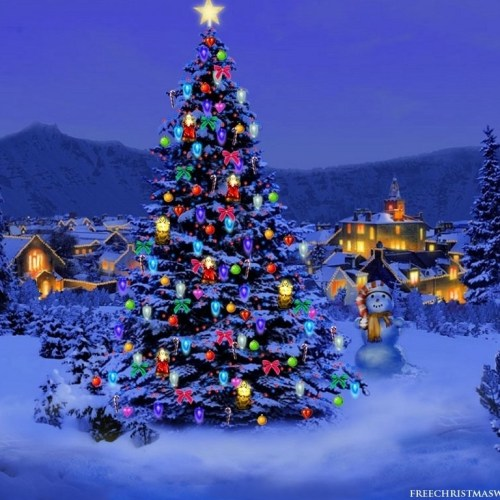 Christmas Tree – Special christian wallpaper free download. Use on PC, Mac, Android, iPhone or any device you like.