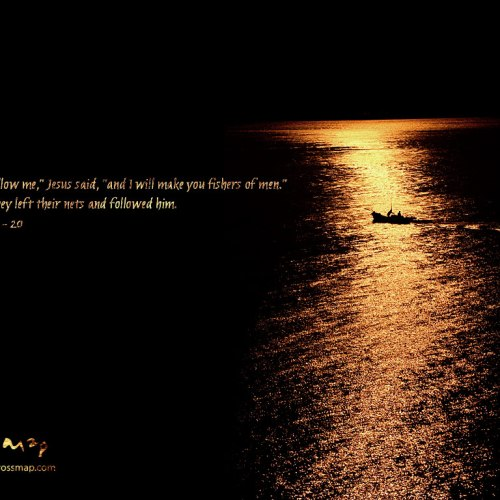 Come, Follow Me christian wallpaper free download. Use on PC, Mac, Android, iPhone or any device you like.