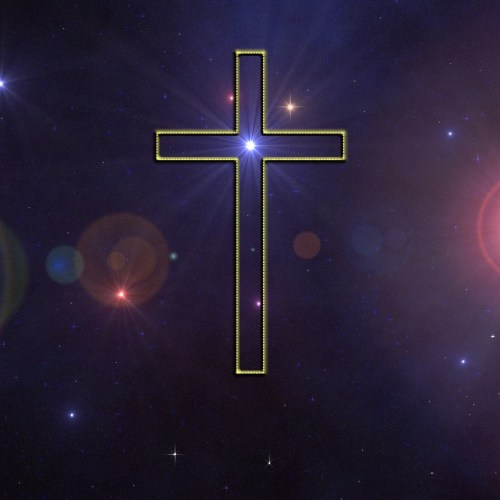 Cross and Stars christian wallpaper free download. Use on PC, Mac, Android, iPhone or any device you like.