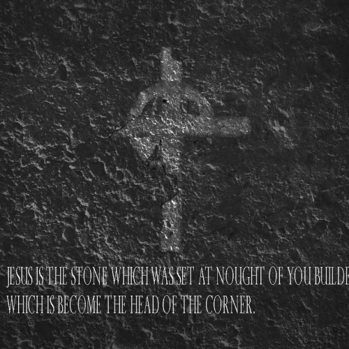 Cross and stone christian wallpaper free download. Use on PC, Mac, Android, iPhone or any device you like.