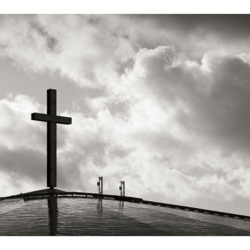 Cross in black and white christian wallpaper free download. Use on PC, Mac, Android, iPhone or any device you like.