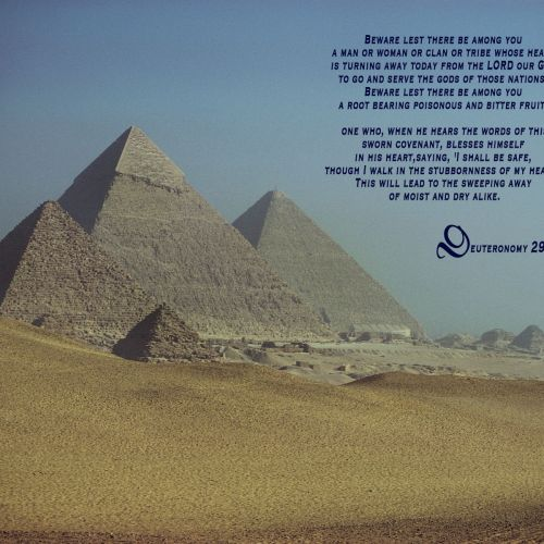 Deuteronomy 29:18-19 christian wallpaper free download. Use on PC, Mac, Android, iPhone or any device you like.
