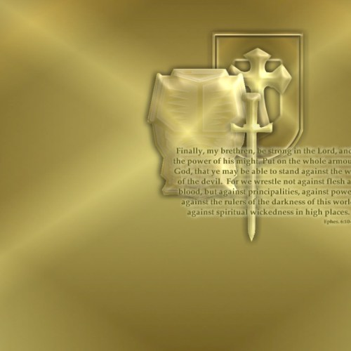 Ephesians 6:10-12 christian wallpaper free download. Use on PC, Mac, Android, iPhone or any device you like.