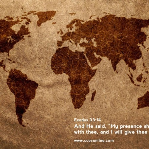 Exodus 33:14 christian wallpaper free download. Use on PC, Mac, Android, iPhone or any device you like.
