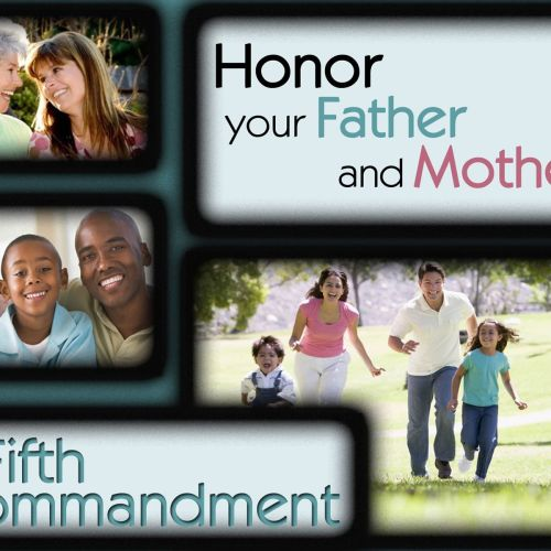 Fifth Commandment christian wallpaper free download. Use on PC, Mac, Android, iPhone or any device you like.