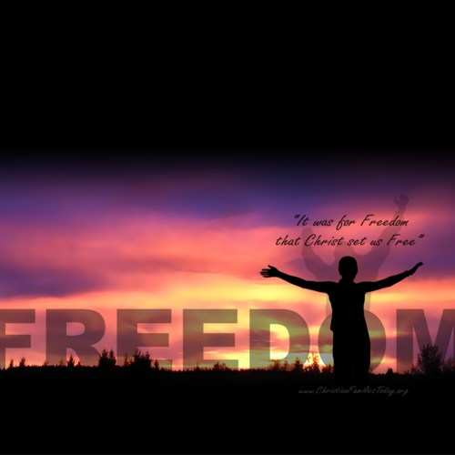 Freedom christian wallpaper free download. Use on PC, Mac, Android, iPhone or any device you like.