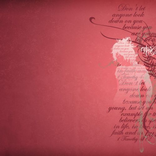 Girl – 1 Timothy 4:12 christian wallpaper free download. Use on PC, Mac, Android, iPhone or any device you like.