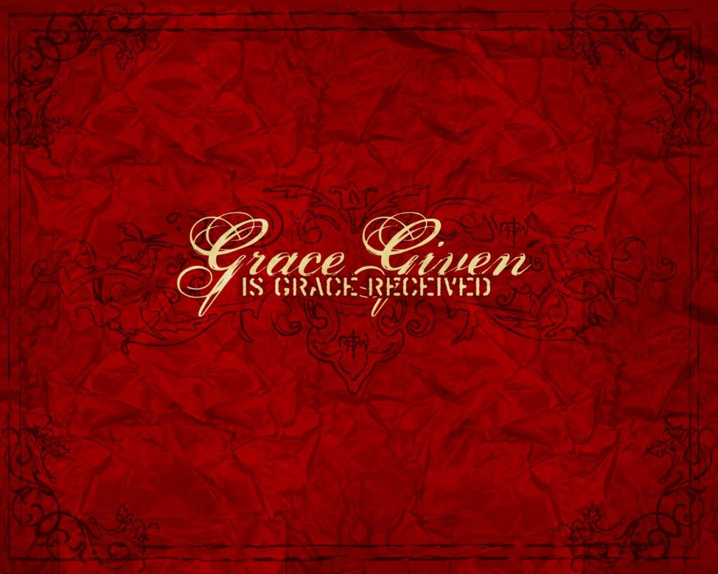 Christian wallpaper Grace Given
