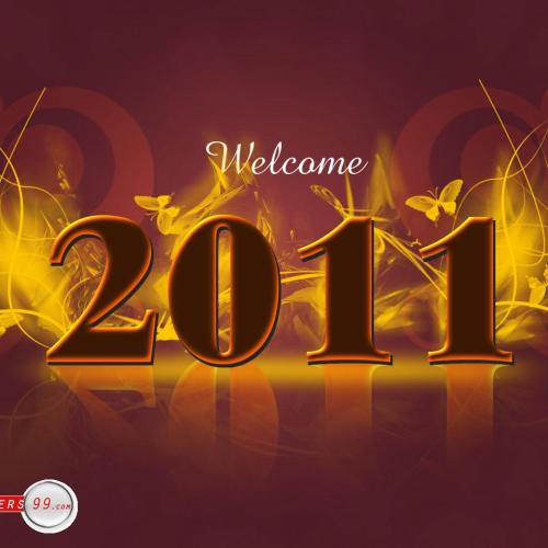 Happy New Year – Welcome 2011 christian wallpaper free download. Use on PC, Mac, Android, iPhone or any device you like.