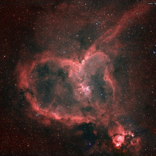 Heart Nebula christian wallpaper free download. Use on PC, Mac, Android, iPhone or any device you like.