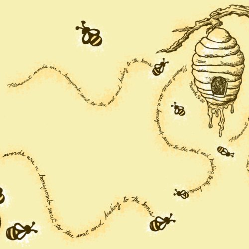 Honey Bee christian wallpaper free download. Use on PC, Mac, Android, iPhone or any device you like.