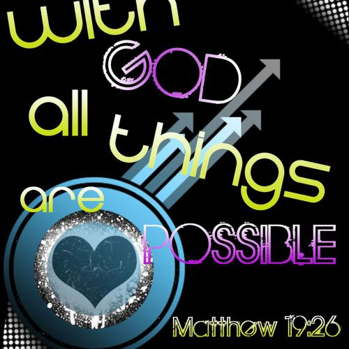 Impossible is nothing christian wallpaper free download. Use on PC, Mac, Android, iPhone or any device you like.