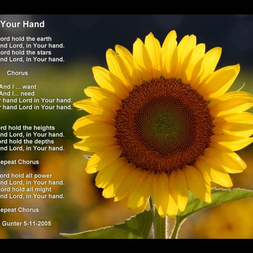 In Your Hand christian wallpaper free download. Use on PC, Mac, Android, iPhone or any device you like.