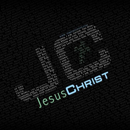 Jesus – Names christian wallpaper free download. Use on PC, Mac, Android, iPhone or any device you like.